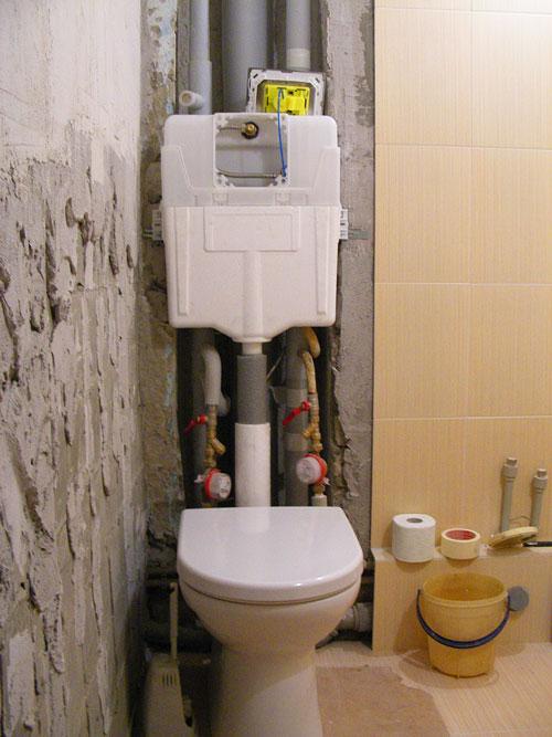 Недорогой ремонт своими руками в ванной 57